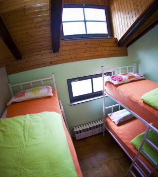 Krevet za 1 osobu u četverokrevetnoj spavaonici
