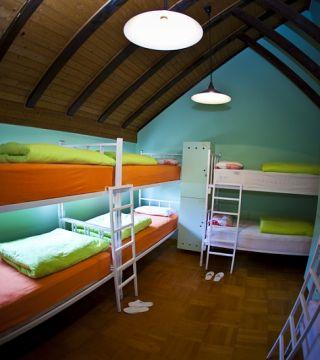 Krevet za 1 osobu u deseterokrevetnoj spavaonici